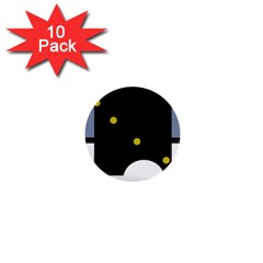 Abstract design 1  Mini Buttons (10 pack)