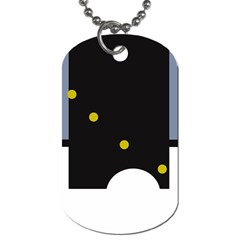 Abstract design Dog Tag (One Side)