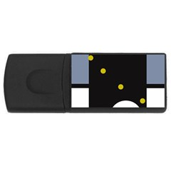 Abstract design USB Flash Drive Rectangular (2 GB)