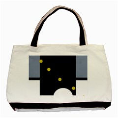 Abstract design Basic Tote Bag (Two Sides)