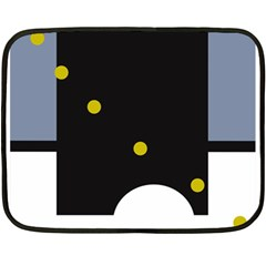 Abstract design Double Sided Fleece Blanket (Mini)