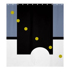 Abstract design Shower Curtain 66  x 72  (Large)