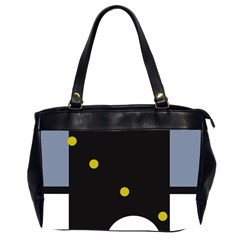 Abstract design Office Handbags (2 Sides)