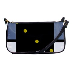 Abstract design Shoulder Clutch Bags