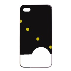Abstract design Apple iPhone 4/4s Seamless Case (Black)