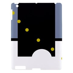 Abstract design Apple iPad 3/4 Hardshell Case