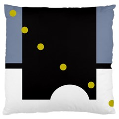 Abstract design Large Cushion Case (One Side)