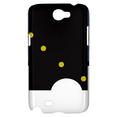 Abstract design Samsung Galaxy Note 2 Hardshell Case