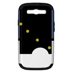 Abstract design Samsung Galaxy S III Hardshell Case (PC+Silicone)