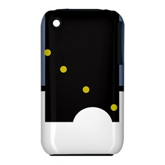 Abstract design Apple iPhone 3G/3GS Hardshell Case (PC+Silicone)