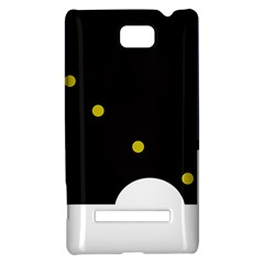 Abstract design HTC 8S Hardshell Case
