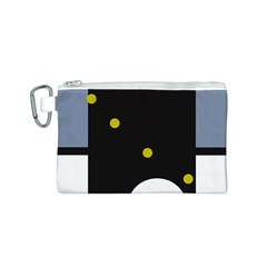 Abstract design Canvas Cosmetic Bag (S)