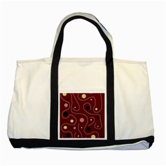 Elegant design Two Tone Tote Bag