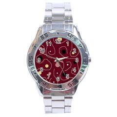 Elegant design Stainless Steel Analogue Watch