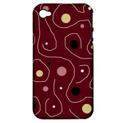 Elegant design Apple iPhone 4/4S Hardshell Case (PC+Silicone)