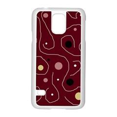 Elegant design Samsung Galaxy S5 Case (White)
