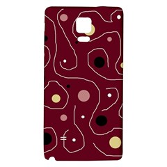 Elegant design Galaxy Note 4 Back Case