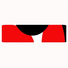Red, black and white Large Bar Mats