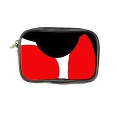 Red, black and white Coin Purse