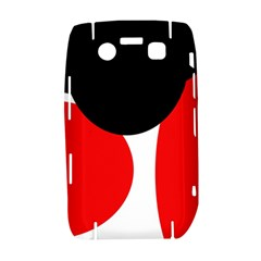 Red, black and white Bold 9700