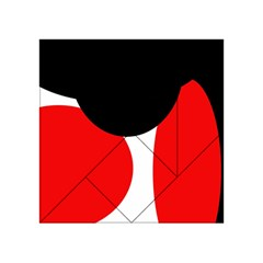 Red, black and white Acrylic Tangram Puzzle (4  x 4 )