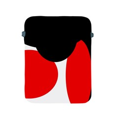 Red, black and white Apple iPad 2/3/4 Protective Soft Cases