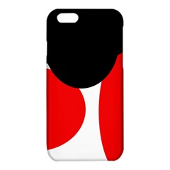 Red, black and white iPhone 6/6S TPU Case