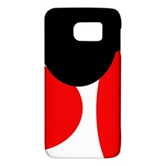 Red, black and white Galaxy S6