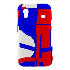 Blue, red, white design  Samsung Galaxy Ace S5830 Hardshell Case