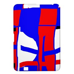Blue, red, white design  Kindle Fire HD 8.9