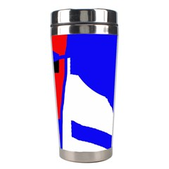 Blue, red, white design  Stainless Steel Travel Tumblers