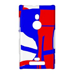 Blue, red, white design  Nokia Lumia 925