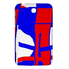 Blue, red, white design  Samsung Galaxy Tab 3 (7 ) P3200 Hardshell Case