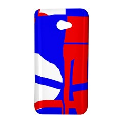 Blue, red, white design  HTC Butterfly S/HTC 9060 Hardshell Case