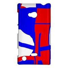 Blue, red, white design  Nokia Lumia 720