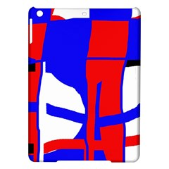 Blue, red, white design  iPad Air Hardshell Cases