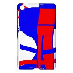 Blue, red, white design  Nexus 7 (2013)