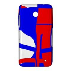 Blue, red, white design  Nokia Lumia 630