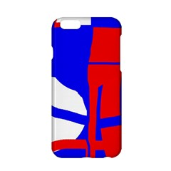 Blue, red, white design  Apple iPhone 6/6S Hardshell Case