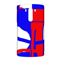 Blue, red, white design  LG G3 Back Case