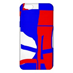 Blue, red, white design  iPhone 6 Plus/6S Plus TPU Case