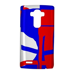 Blue, red, white design  LG G4 Hardshell Case