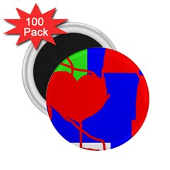 Abstract hart 2.25  Magnets (100 pack)