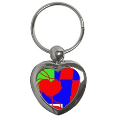 Abstract hart Key Chains (Heart)