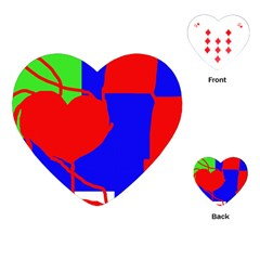 Abstract hart Playing Cards (Heart)