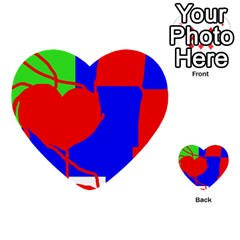 Abstract hart Multi-purpose Cards (Heart)