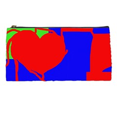 Abstract hart Pencil Cases