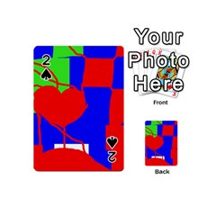 Abstract hart Playing Cards 54 (Mini)
