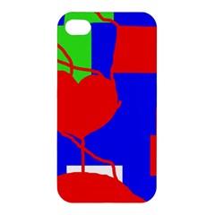 Abstract hart Apple iPhone 4/4S Hardshell Case