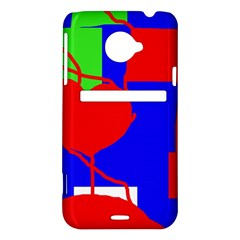 Abstract hart HTC Evo 4G LTE Hardshell Case